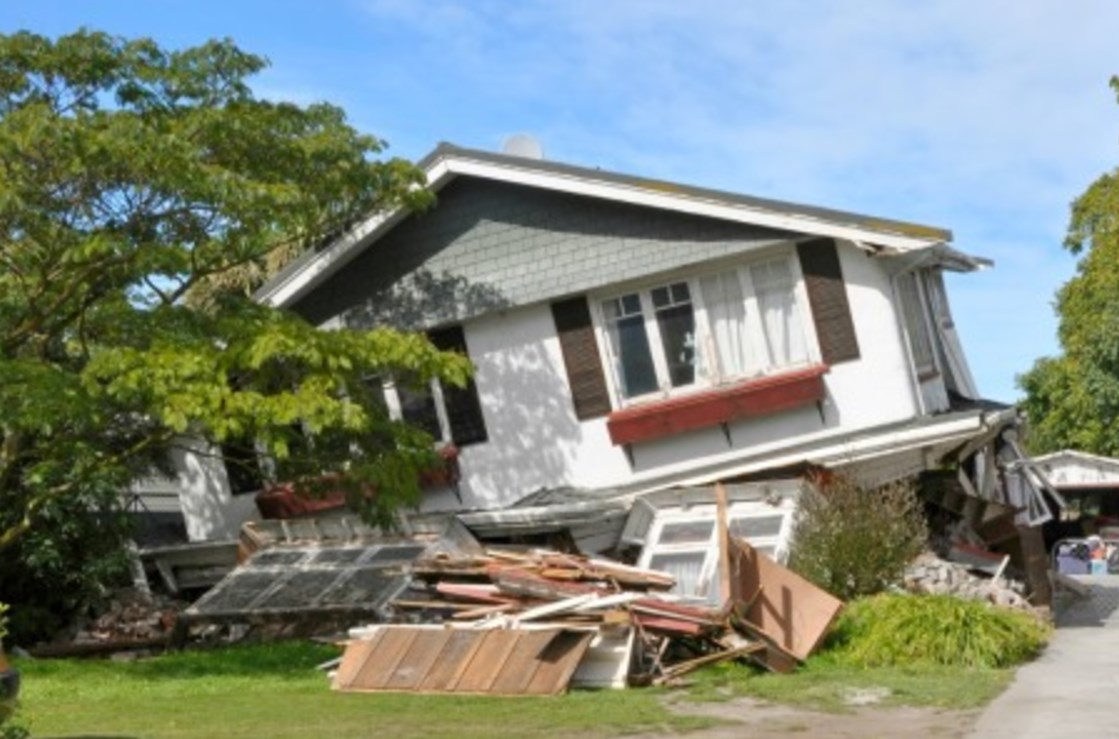 THIS HOME FELL OFF A CRIPPLE WALL THAT WAS AROUND 6 FEET TALL