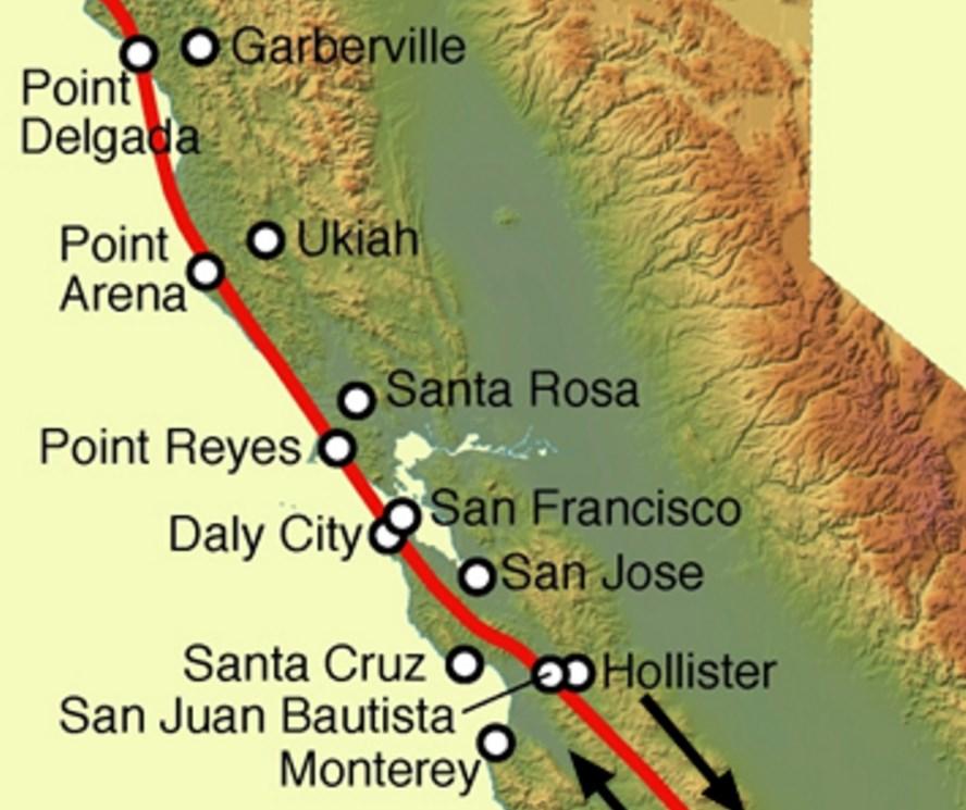 San Andreas Fault Bay Area Retrofit - San andreas fault map bay area