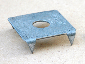 Mudsill Plate to Increase Strength and Reduce Splltting in Foundation Bolts