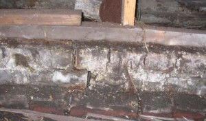 Bolting into brick is possible, but this brick foundation is hopeless