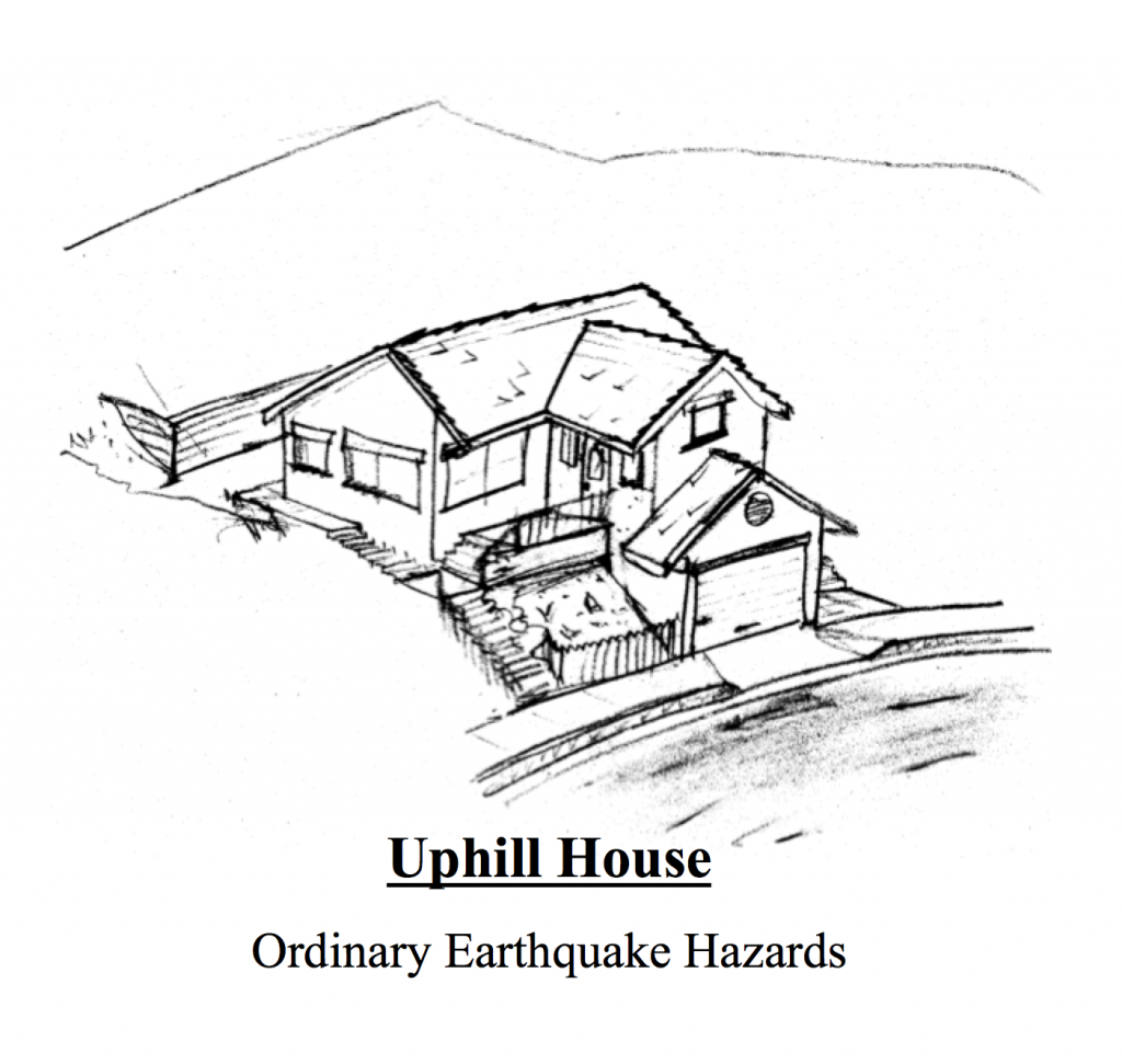 Uphill houses do not need a hillside home retrofit