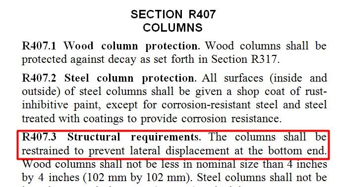 Columns bay area retrofit for Sunnyvale permit